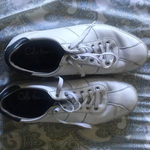 Cole Haan Shoes - Cole Haan white leather lace ups with Nike AIR